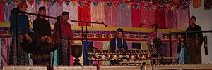 Philippine folk music - Kulintang ensemble of the Mindanao people.