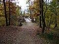 Kunratice, Nový Hrádek, pohled přes most (02).jpg