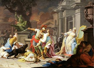 The Death of Priam.