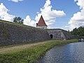 Kuressaare Castle Artillery Tower from the east.jpg