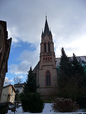 Kusel - Lehnstraße 10: Saint Giles's Catholic Parish Church (Pfarrkirche St. Ägidius)