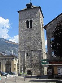 l'ancien clocher de l'église Notre-Dame
