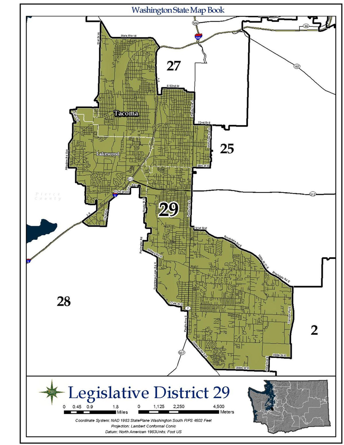 Washington's 29th legislative district - Wikipedia on
