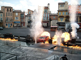 Walt Disney Studios Park - The Moteurs... Action! Stunt Show.