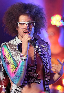 Redfoo American rapper from California