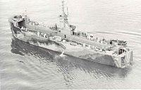 USS LSM 152 in 1944