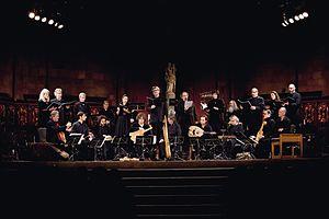 """La Capella Reial de Catalunya - La Capella Reial de Catalunya and Hespèrion XXI during the recording of """"El Llibre Vermell de Montserrat"""""""