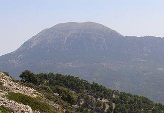 Prebaetic System - La Sagra seen from Sierra Seca