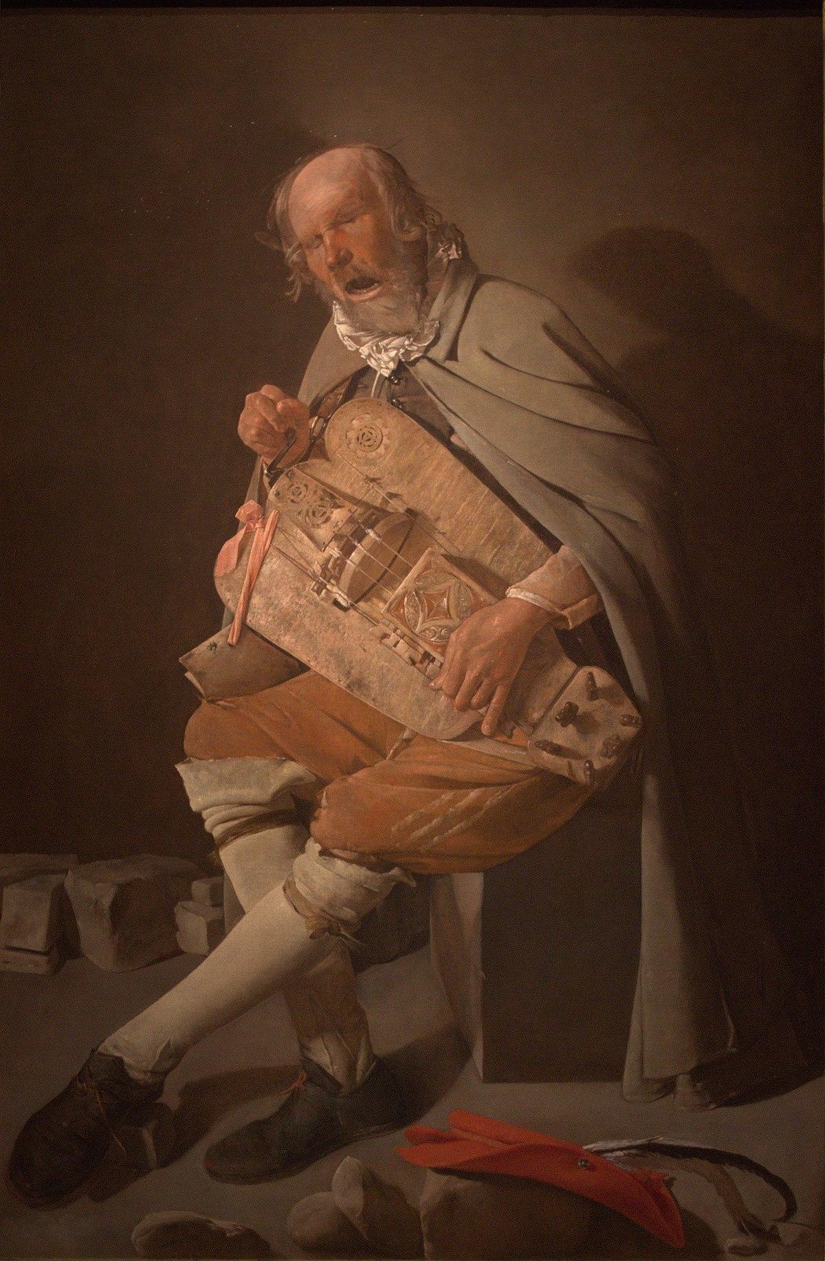 Nettoyer Un Vieux Tableau le vielleur — wikipédia