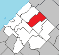 Lac-Boisbouscache Quebec location diagram.png
