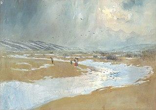 Spiš Landscape in Winter