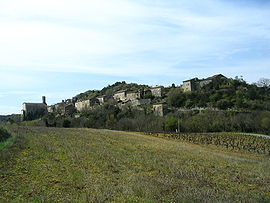 A general view of Lagorce