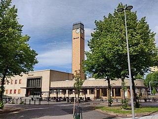 Kartano District of Lahti in Päijät-Häme, Finland