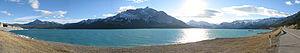 Abraham Lake - Image: Lake Abraham Pan 1