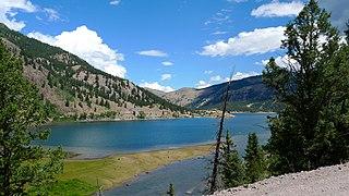 Lake San Cristobal lake of the United States of America