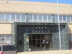 Lamb County Courthouse in Littlefield