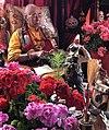 Lamdark Rinpoche meditating in Karze Monastary.jpg