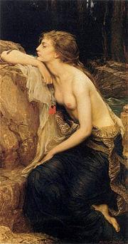 Lamia by Herbert James Draper (1909)