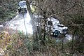 Land Rovers in News Wood, Eastnor - geograph.org.uk - 1134113.jpg