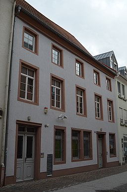 Kugelgartenstraße in Landau in der Pfalz
