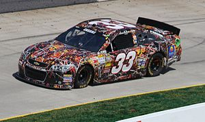 Hillman-Circle Sport LLC - The No. 33 driven by Landon Cassill in the 2013 STP Gas Booster 500