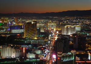 Casino - The Las Vegas Strip is renowned for its high concentration of casino resort hotels