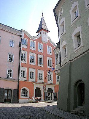 Laufen, Germany - Laufen Salzach Old Town hall