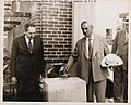 Laying cornerstone of new Traffic Building Southampton Street -James Michael Curley- -TP152- (6082770554).jpg