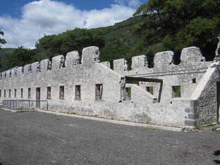 Lazarets de la grande Chaloupe, near Saint-Denis - Réunion Island