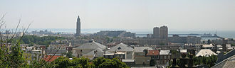 St. Joseph's Church, Le Havre - Image: Le Havre Panorama 10