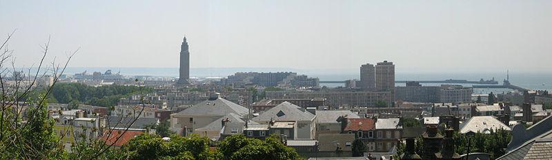 Le Havre Skyline In 2005
