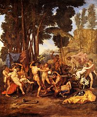 Le Triomphe de Silène - Nicolas Poussin - National Gallery London.jpg