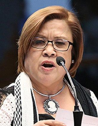 Leila de Lima - Image: Leila de Lima (cropped)