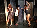 Leona Lewis and Beyoncé at Madame Tussauds London (12329409795).jpg