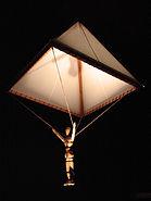 Leonardo da Vinci parachute 04659a