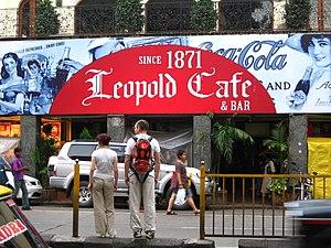 Colaba Causeway - Image: Leopold Cafe gobeirne
