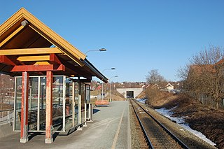 Stavne–Leangen Line railway line