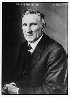 L. Heisler Ball American politician