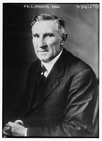 L. Heisler Ball - Image: Lewis Heisler Ball (1861 1932) in 1918