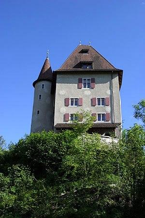 Wyna (river) - Castle Liebegg