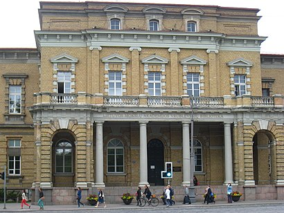 How to get to Lietuvos Mokslų Akademijos Biblioteka with public transit - About the place