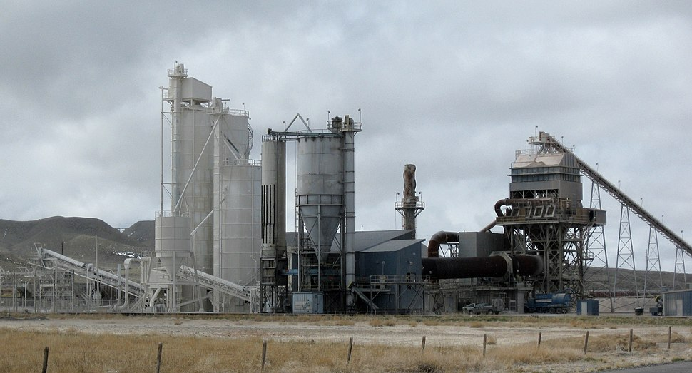Lime plant, Wyoming