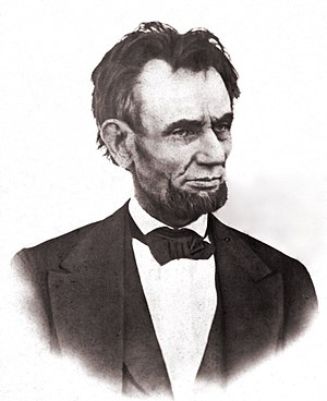 The latest photograph of President Lincoln. Ta...