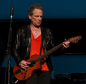 English: Lindsey Buckingham With Fleetwood Mac...