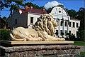 Lion in Jaunjelgava - panoramio.jpg