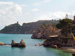 Altavilla Milicia - The coast of Altavilla Milicia