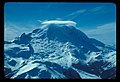 Little Tahoma, Mt Rainier with cloud. Emmons Glacier and Steamboat Prow. 31978. slide (be9dcf67d8334bd7b534c47033d11499).jpg