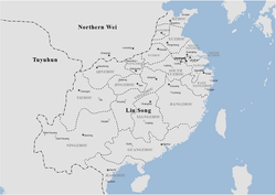 Administrative divisions of Liu Song