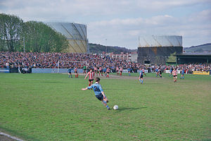Loakes Park - FA Trophy semi-final second leg v Altrincham at Loakes Park (Saturday 17 April 1982)