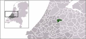 Achttienhoven, South Holland - Image: Locatie Nieuwkoop